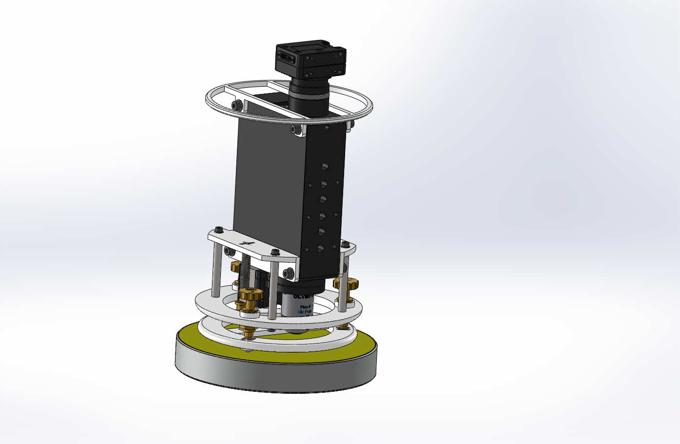 Image # 1 - Interference microscope with a piezo focusing stage used for measuring surface roughness.